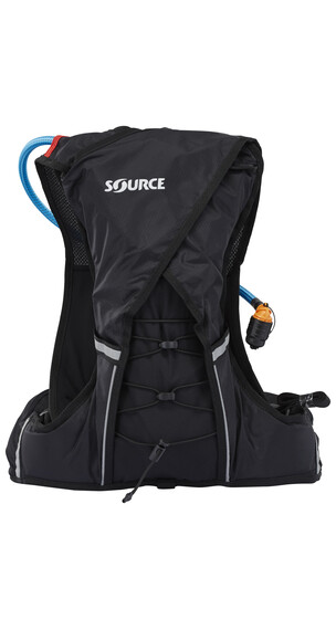 SOURCE Dune Trinkrucksack 1,5 Liter black/red